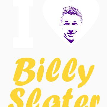 """I Love Billy Slater"" by PurpleReignGFX"