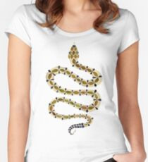 Olive Serpent Women's Fitted Scoop T-Shirt