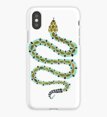 Turquoise Serpent iPhone Case/Skin