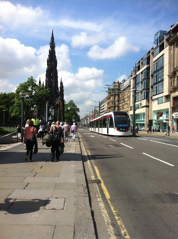 Edinburgh Tram by AJAnfield