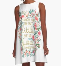 Little & Fierce A-Line Dress