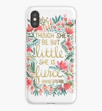 Little & Fierce iPhone Case/Skin