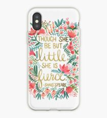 Little & Fierce Coque et skin iPhone