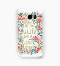 Little & Fierce Samsung Galaxy Case/Skin