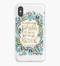 Anything's Possible iPhone Case