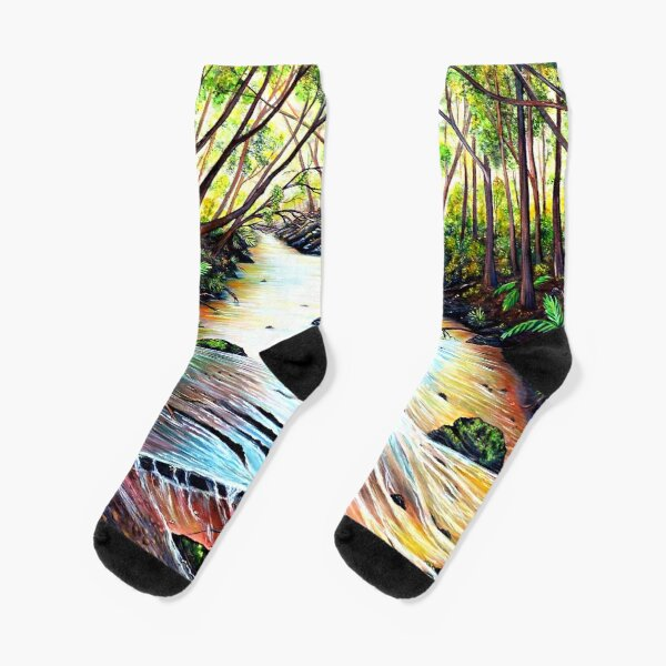 Blue Mountains Creek Socks