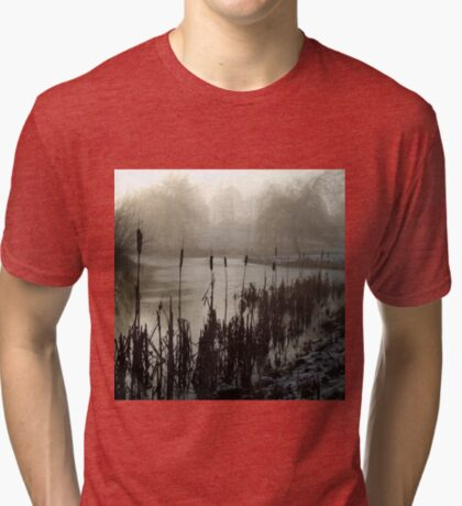 Morning on the Golf Course Tri-blend T-Shirt