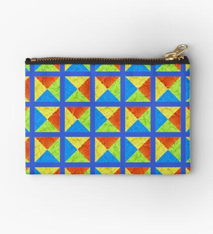 #DeepDream color factures #Art Zipper Pouch