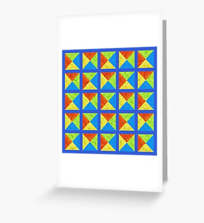 #DeepDream color factures #Art Greeting Card