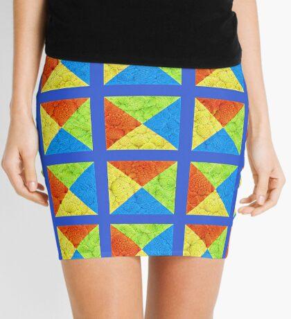 #DeepDream color factures #Art Mini Skirt