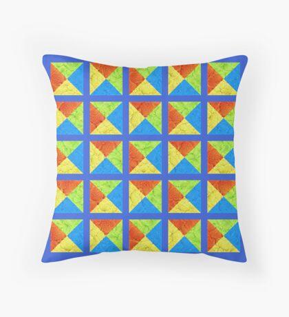 #DeepDream color factures #Art Throw Pillow