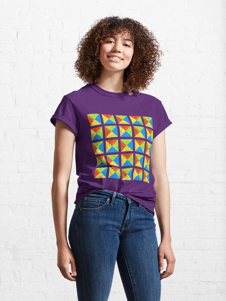 Alternate view of #DeepDream color factures #Art Classic T-Shirt