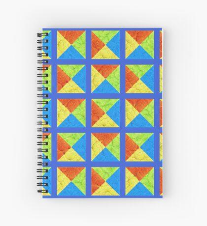 #DeepDream color factures #Art Spiral Notebook