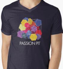 "Passion Pit - ""Chunk of Change"" Men's V-Neck T-Shirt"