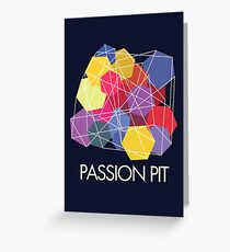 "Passion Pit - ""Chunk of Change"" Greeting Card"