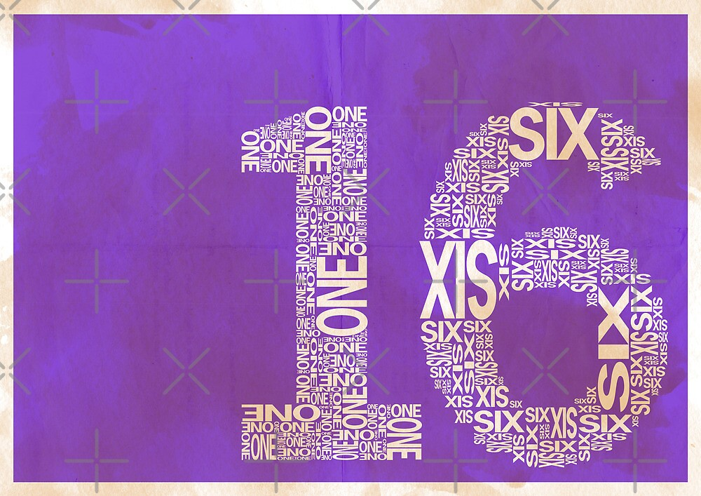 16 by axemangraphics