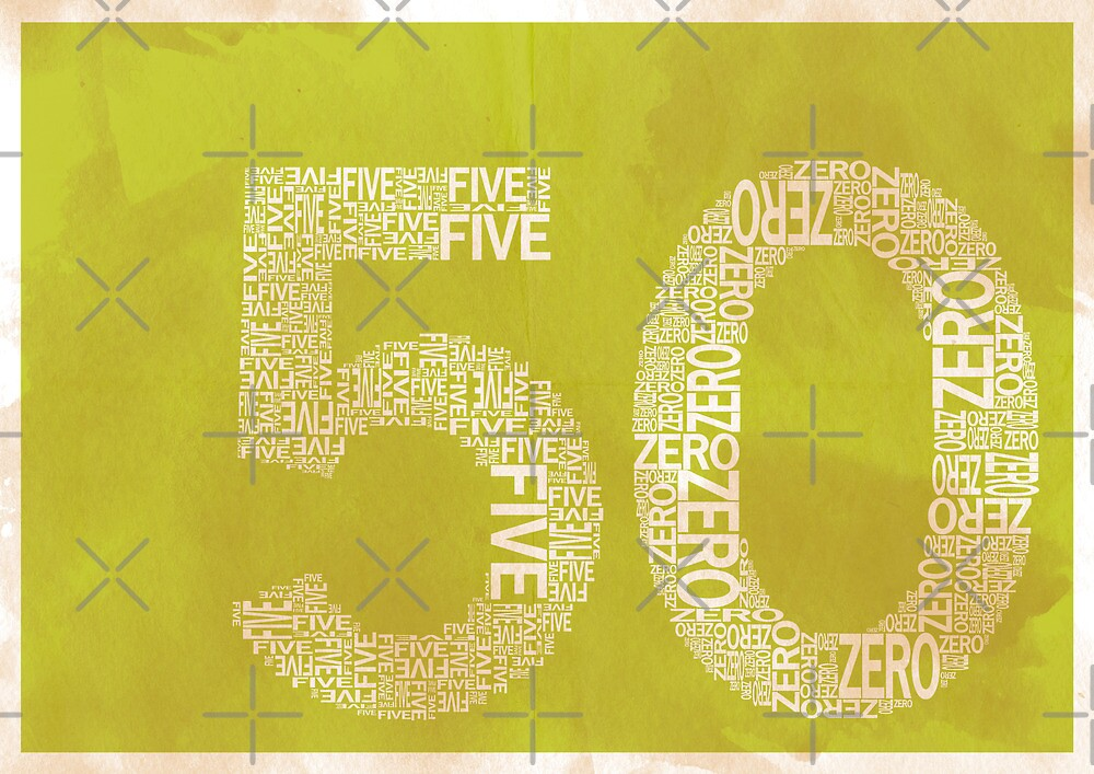 50 by axemangraphics