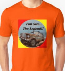 Full size Jeep, the Legend Unisex T-Shirt