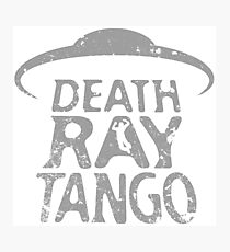 Death Ray Tango Logo Photographic Print