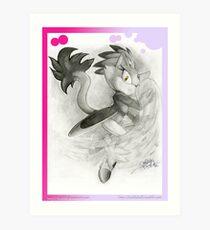 Blaze the Cat Art Print