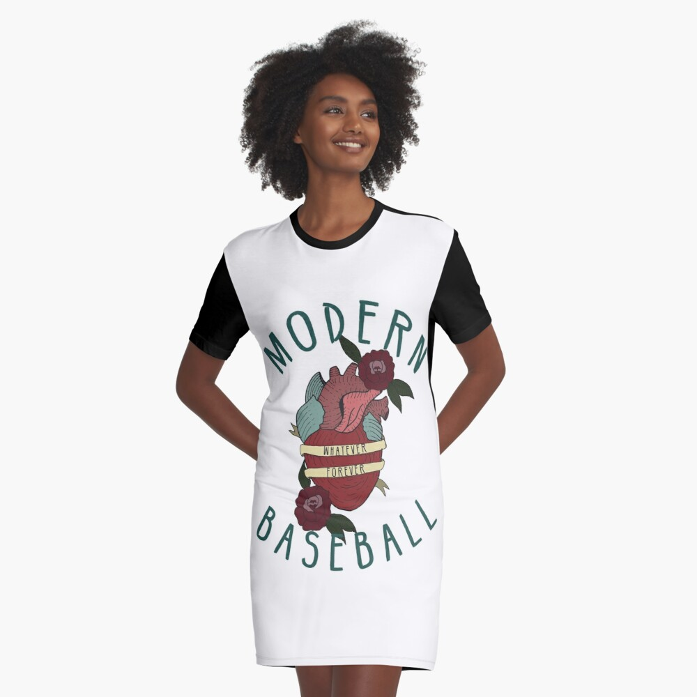 Whatever Forever Graphic T-Shirt Dress Front
