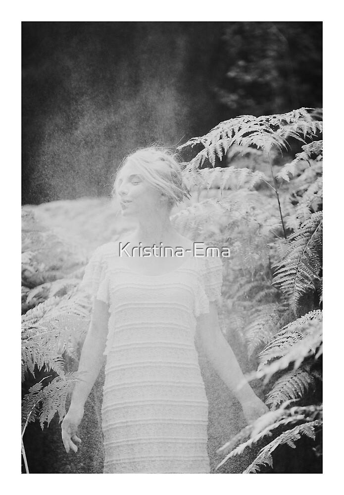 Fern girl by Kristina-Ema
