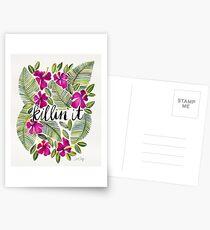 Killin' It – Tropical Pink Postcards