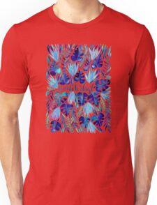 Tropical Wanderlust – Blue Unisex T-Shirt