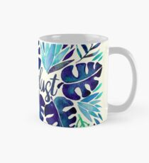 Tropical Wanderlust – Blue Mug