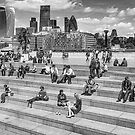 London in summer day by flashcompact