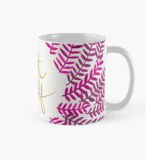 Behandle Yo Self - Gold & Pink Tasse