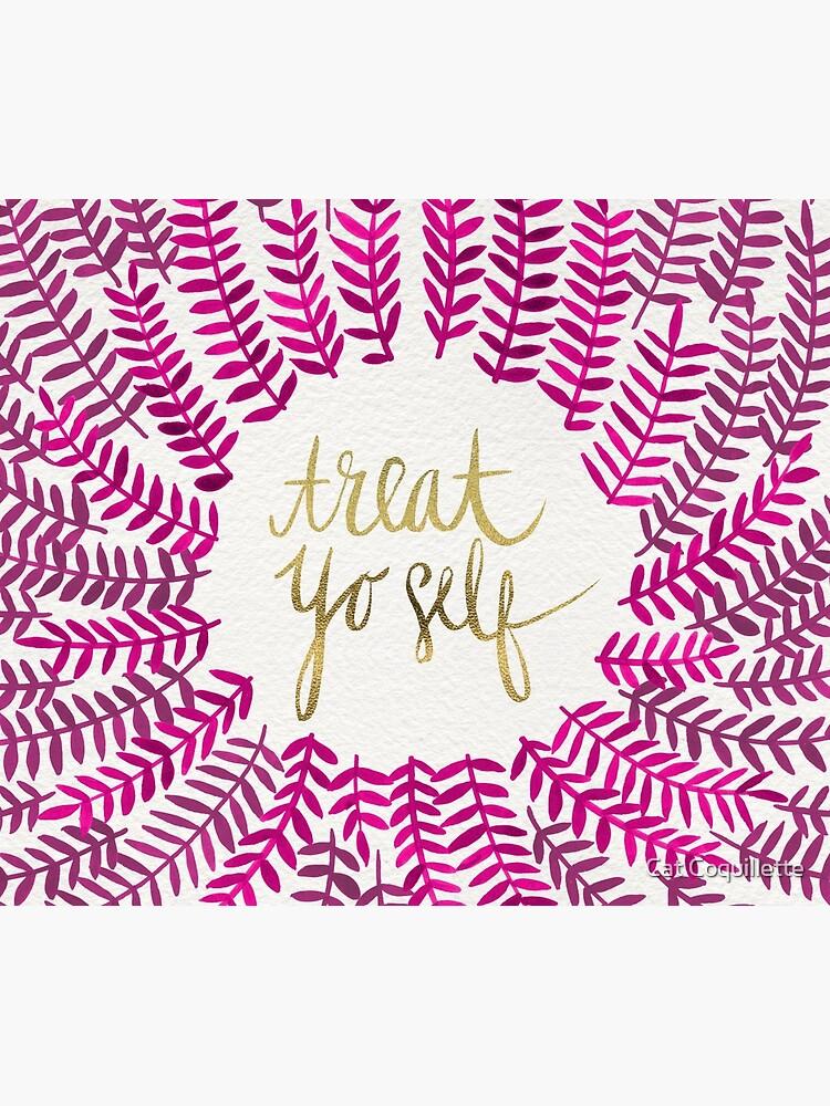 Behandle Yo Self - Gold & Pink von catcoq