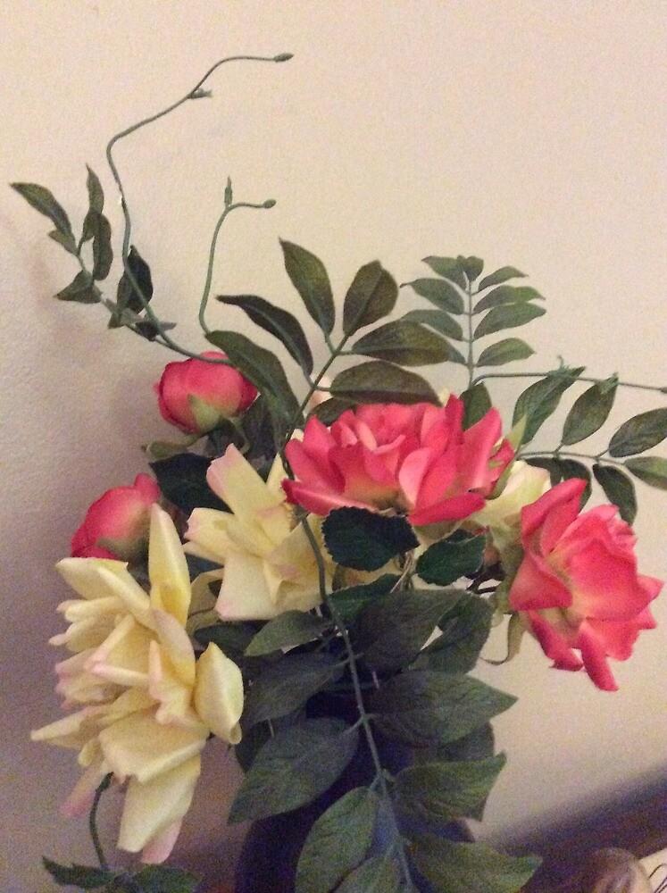 Flowers in vase by Echohawk