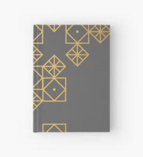 Geometric Gold Hardcover Journal