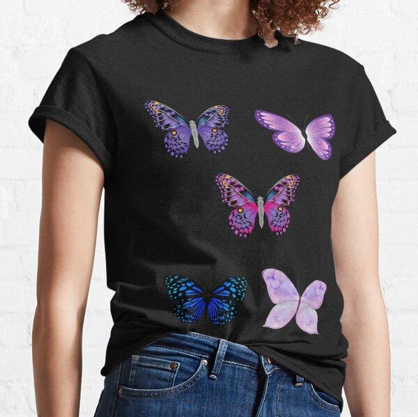 Butterfly Sticker Set  Classic T-Shirt