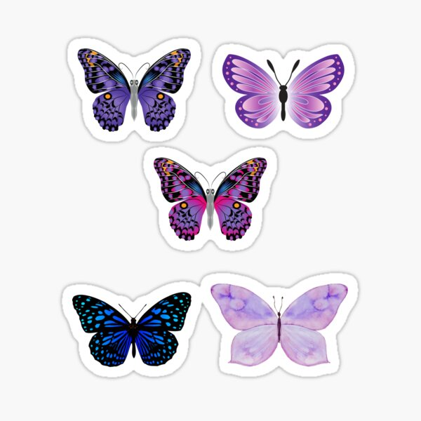 Butterfly Sticker Set  Sticker