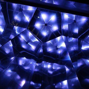 Blue kaleidoscope by Sheepandwolf