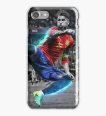 Sergio Ramos Spain Euro 2016 iPhone Case/Skin