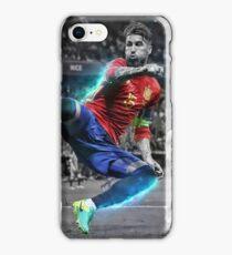 Sergio Ramos Spain Euro 2016 iPhone Case/Skin