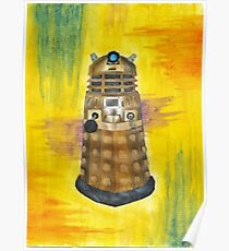 Rainbow Dalek  Poster
