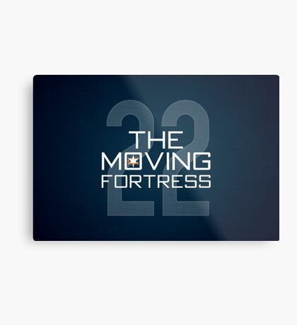 The Moving Fortress Metal Print