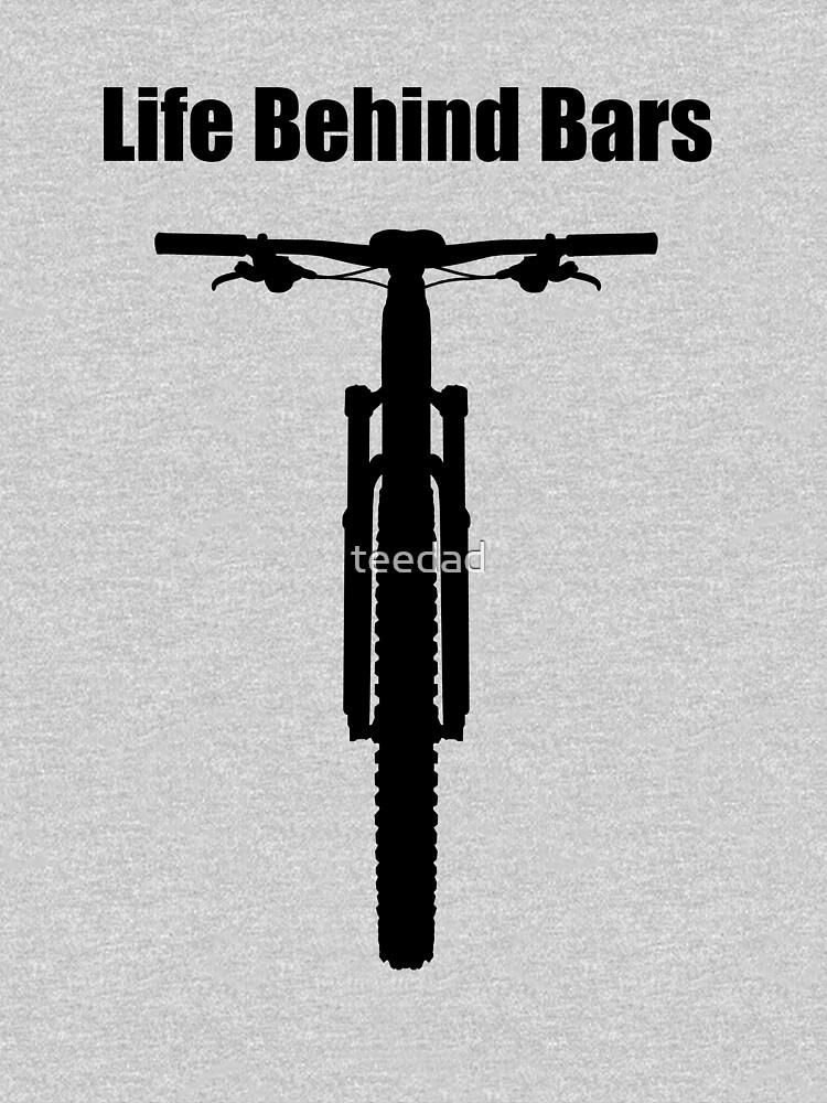 Life Behind Bars Mountain Bike | Unisex T-Shirt