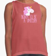 Born To Be A Unicorn Contrast Tank