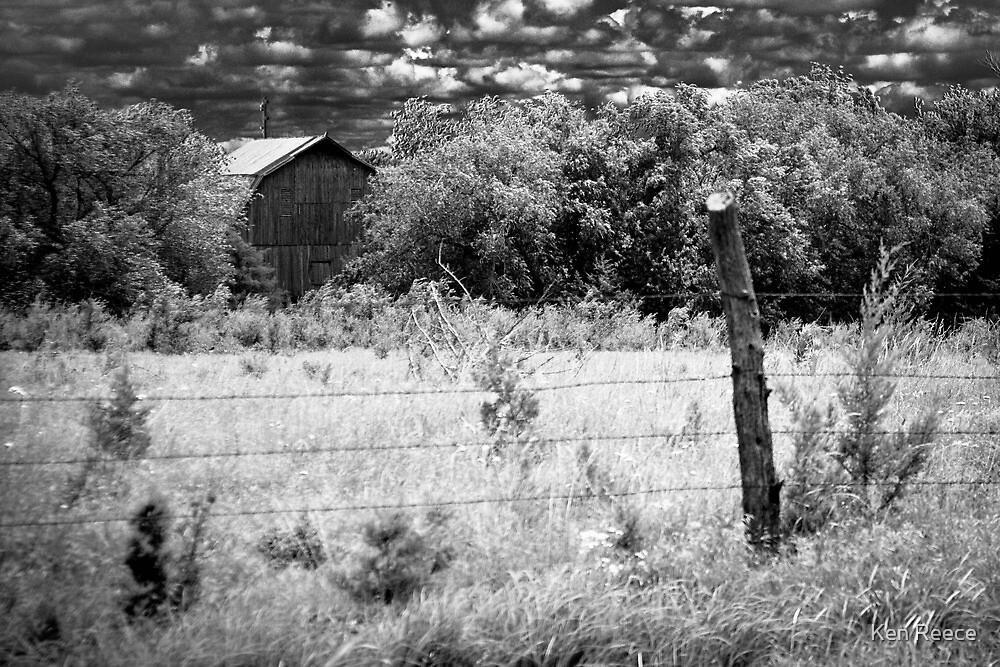 Country Barn by Ken Reece