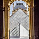 Louvre, Paris by David Mapletoft