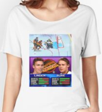Vancouver Canucks Arcade Shirt  Women's Relaxed Fit T-Shirt
