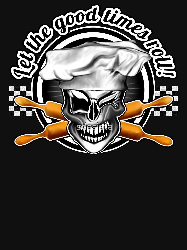 Baker Skull 6: Let the good times roll! by sdesiata