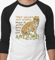Babou is Awesome Men's Baseball ¾ T-Shirt