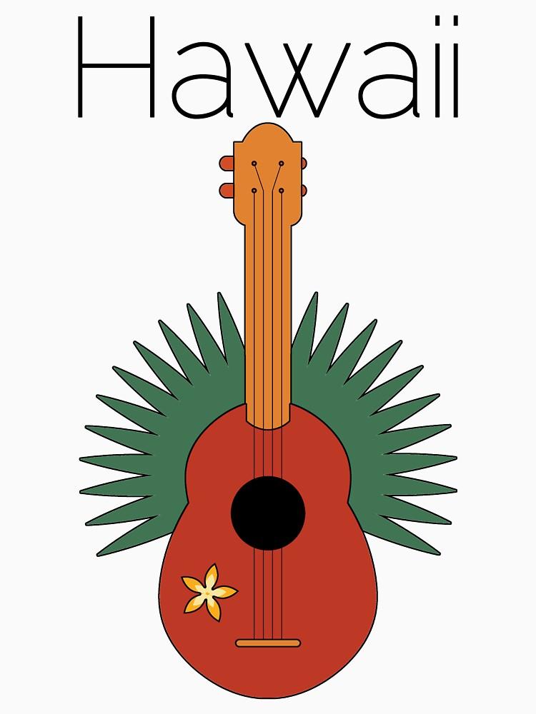 Hawaii Ukulele  by pjwuebker