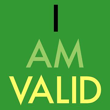 """I Am Valid"" Aro Design by nerdfelt"
